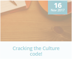 HR blog, Cracking the Culture Code.