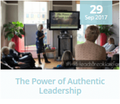 HR blog: The Power of Authentic Leadership