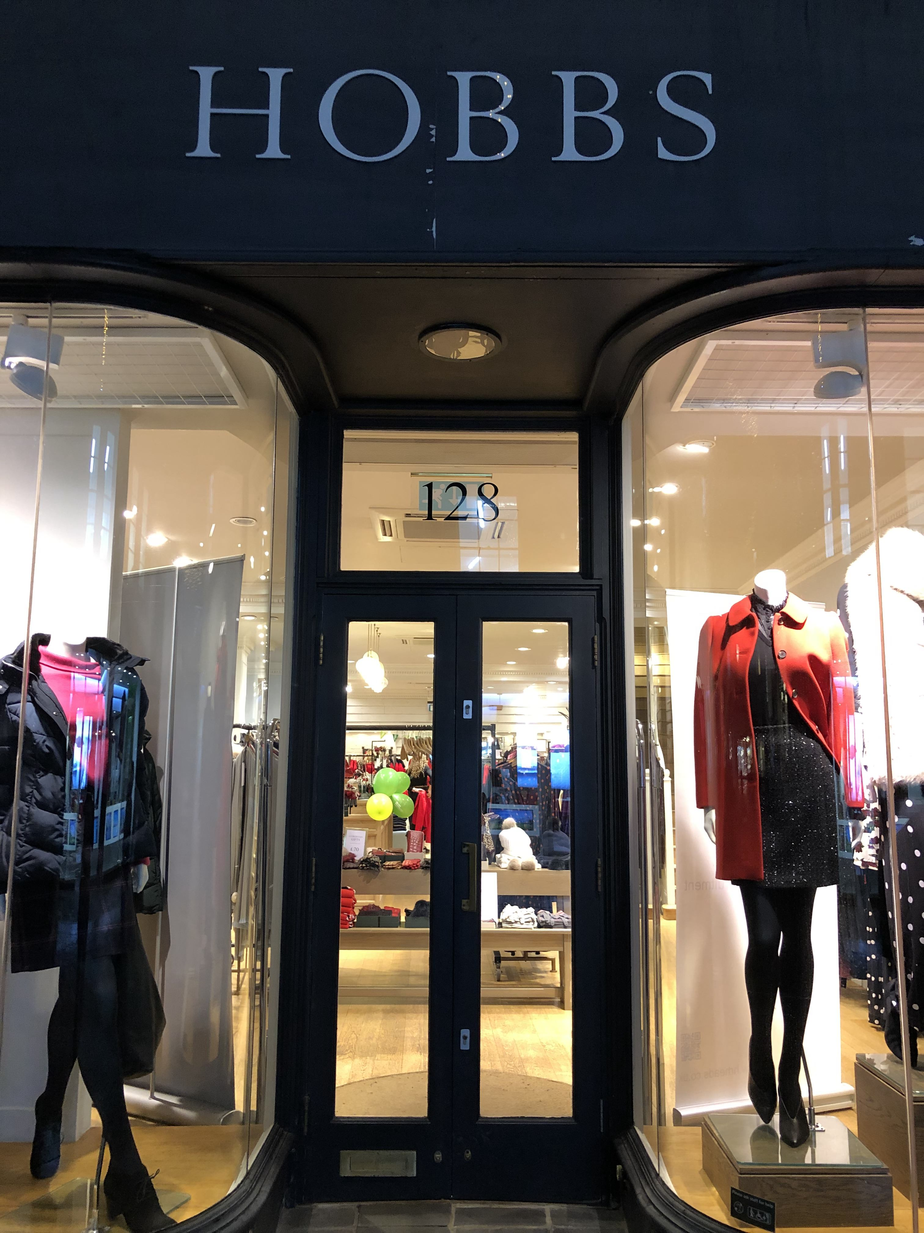 Charity fashion show held by HR Heads at Hobbs in Winchester.