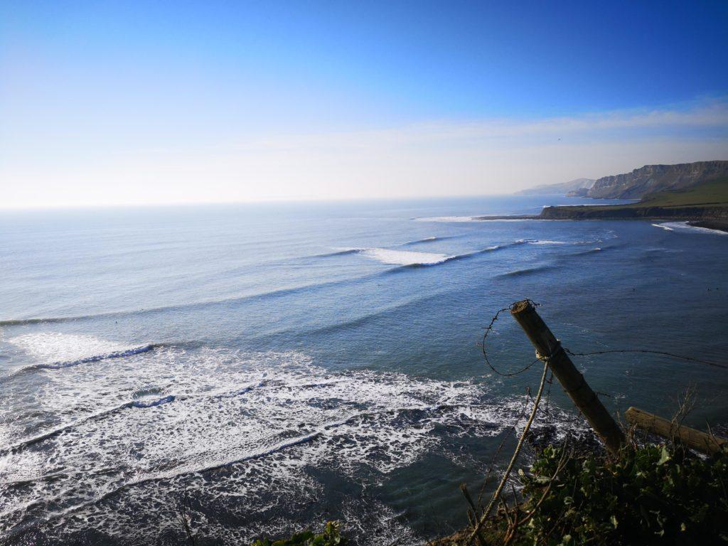 Senior Manager Chris Pestell loves surfing.