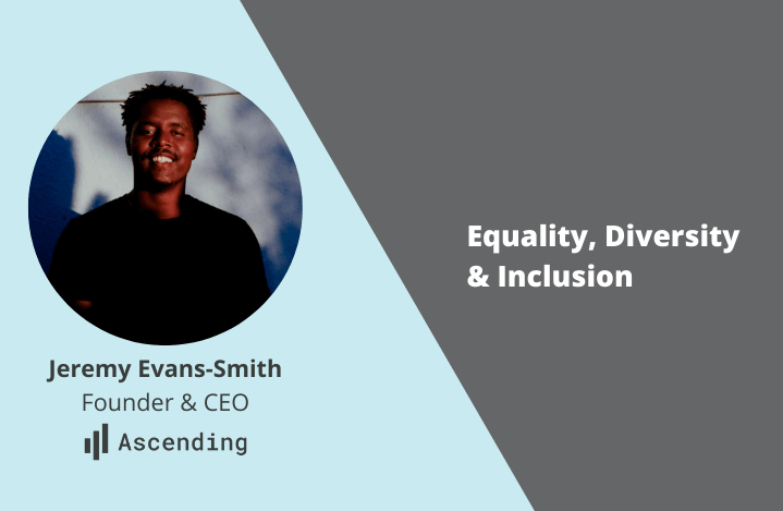 Image of Jeremy Evans-Smith on the Equality, Diversity and Inclusion blog