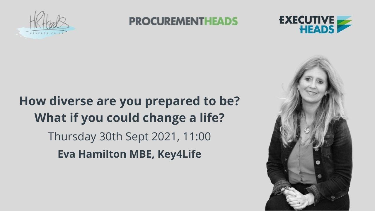 Image of Eva Hamilton MBE Founder of Key4Life